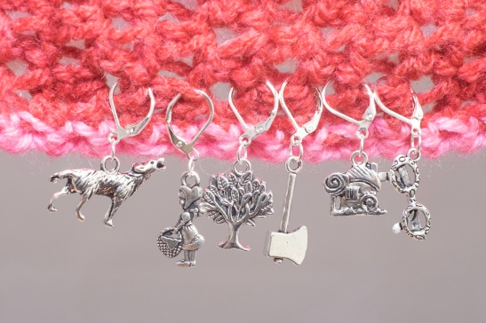 Little Red Riding Hood stitch markers