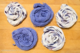Blueberry Crush & Clear Skies Mini Skeins Sock 2