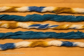 Luke's Going For Gold & Pacific Mini Skeins Sock 2