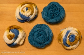 Luke's Going For Gold & Pacific Mini Skeins Sock 3
