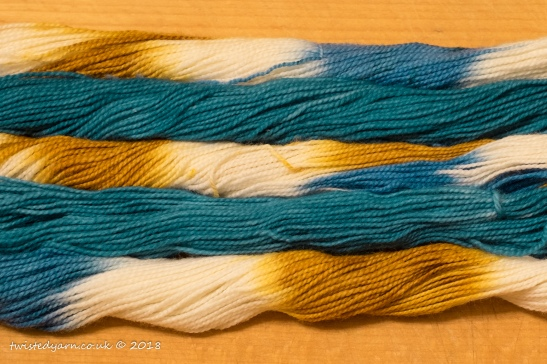 Luke's Going For Gold & Pacific Mini Skeins Sock