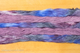 Nebula & Purple Haze Mini Skein Set Sock 3